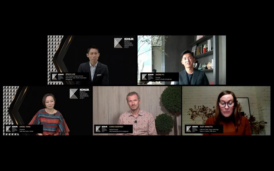Công bố giải thưởng thiết kế KOHLER Bold Design Awards 2021 khu vực châu Á - Thái Bình Dương