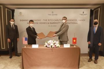 Marriott International và Masterise Homes ra mắt dự án căn hộ hàng hiệu Ritz-Carlton Hà Nội